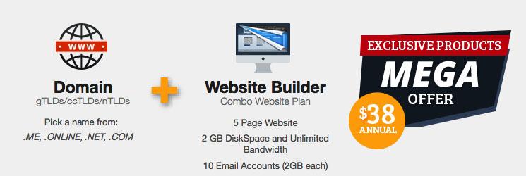 Combo Sitebuilder $38