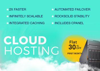 Cloud Hosting Promo