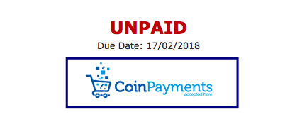 Coinpayments accepted here
